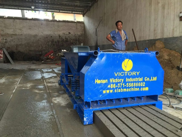 Prestressed concrete column machine