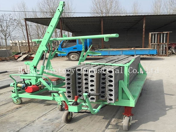 Wall panel stacker equipment