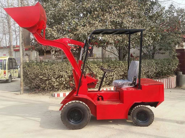 Electric Loader For Concrete Aggregate
